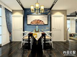 中式餐厅吊顶装修哪种好?