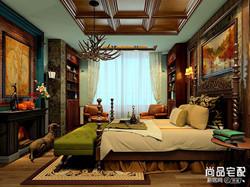 房间古典装修效果图,清雅含蓄