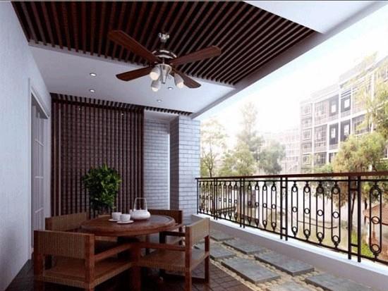 阳台吊顶用松木