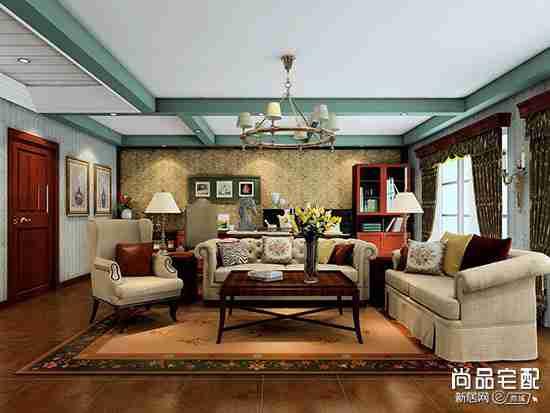 客厅窗帘杆高度一般多高