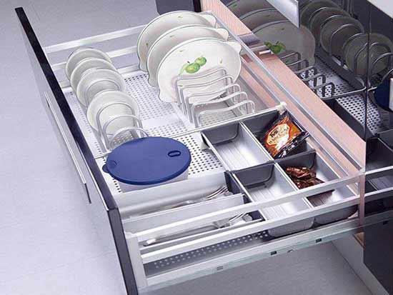 厨房橱柜拉篮图片,有你的喜欢的吗?