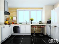 家装开放式厨房效果图大全欣赏