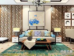 中式风格装修效果图大全欣赏