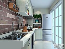 普通厨房装修效果图大全欣赏