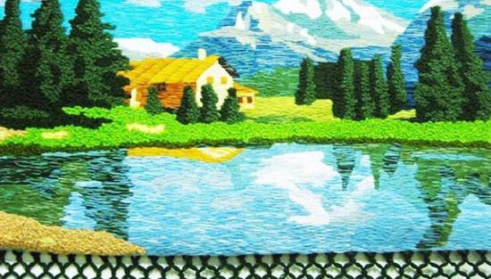 高档艺术挂毯