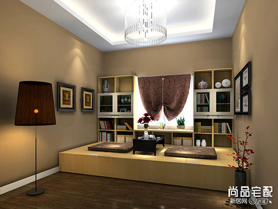 日式装修卧室效果图
