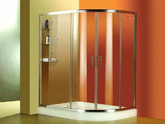 圆弧形淋浴房好吗