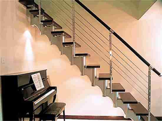 水曲楼梯价格一般多少钱