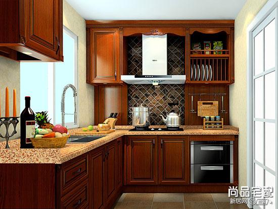 中式厨房橱柜效果图