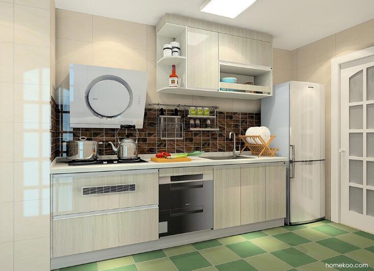 10平方的厨房装修效果图,美的让你睁不开眼!