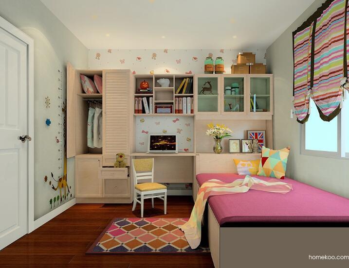 2019最新空间小的儿童房效果图,总有一款适合您的宝贝!