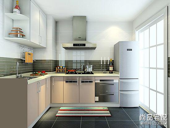 原来小户型厨房装修效果图这样设计也可以这个漂亮