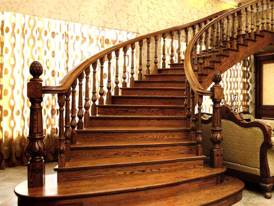 家庭楼梯效果图?这样设计美悬浮楼梯
