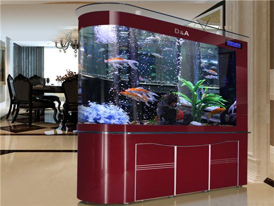 家用鱼缸底柜用什么颜色好看