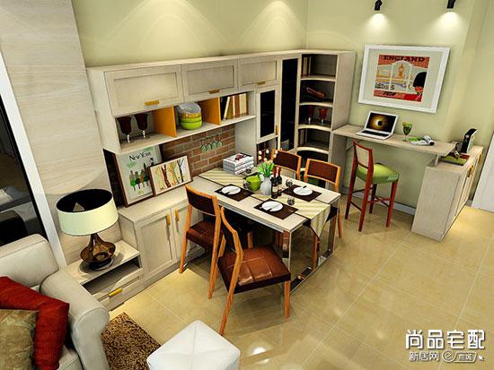 小户型必看,小餐厅型餐边柜这样设计更有效利用空间