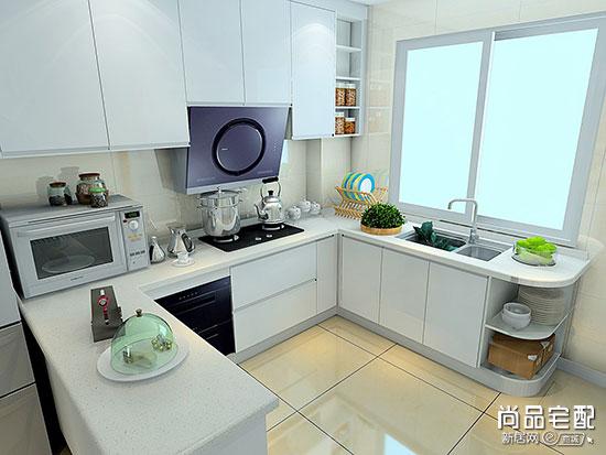 现代简约风格厨房装修效果图案例欣赏