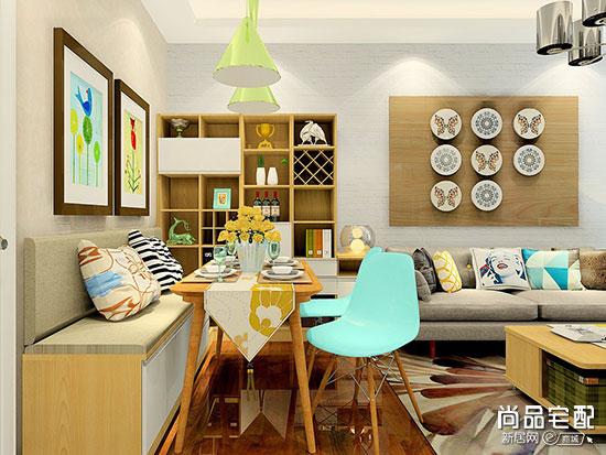 家装现代简约餐厅风格装修效果图