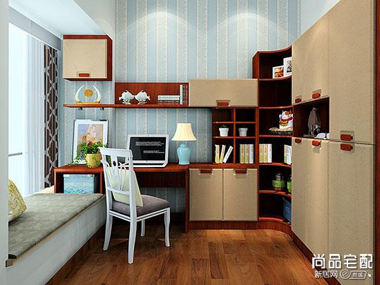 超小书房装修效果图,设计师轻松帮你搞定