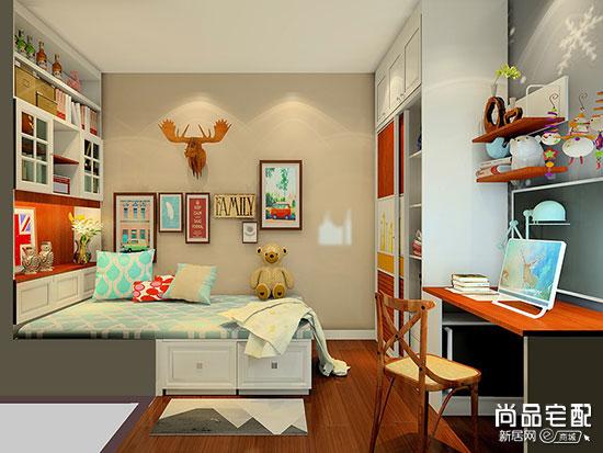 小型卧室儿童房榻榻米装修效果图大全