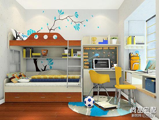小面积儿童房装修实例,给孩子一个完美的童年