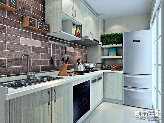长条厨房的装修效果图设计技巧