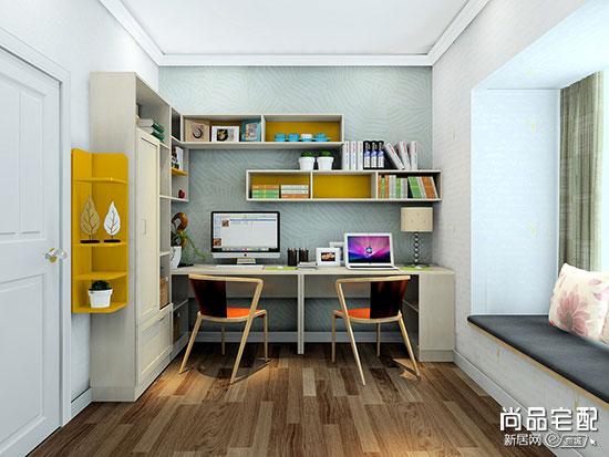 看完这几款小面积书房装修效果图就懂怎么设计好