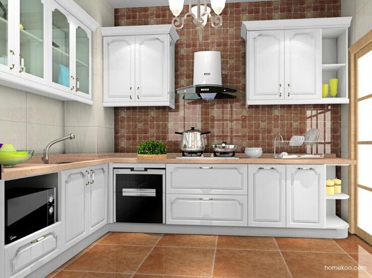 欧式风格厨房装修?不得不说这样设计真好看!