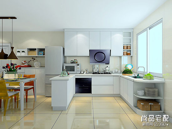 看完这些现代化厨房装修效果图,厨房就决定这么装