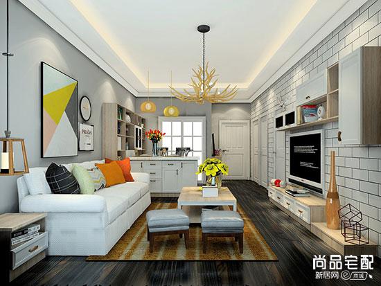 这几款两室一厅小欧式装修效果图看起来让更温馨