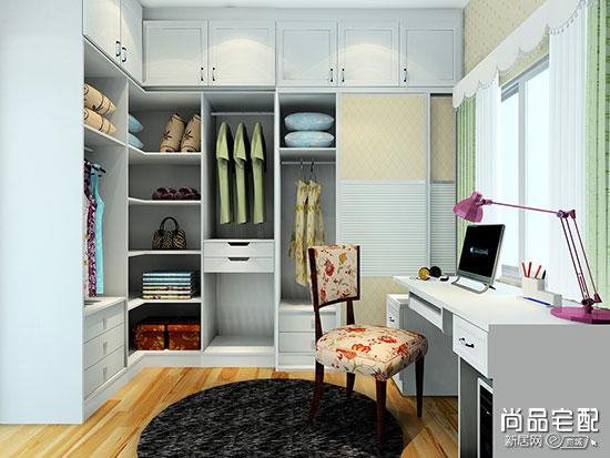 在卧室做个整体衣柜多少钱一平方