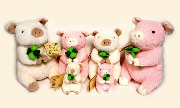 超可爱的动物造型布艺玩具