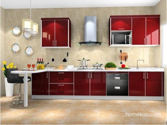 几款必看的整体厨房效果图
