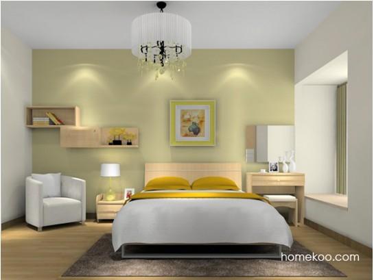 简约主义卧室装修效果图