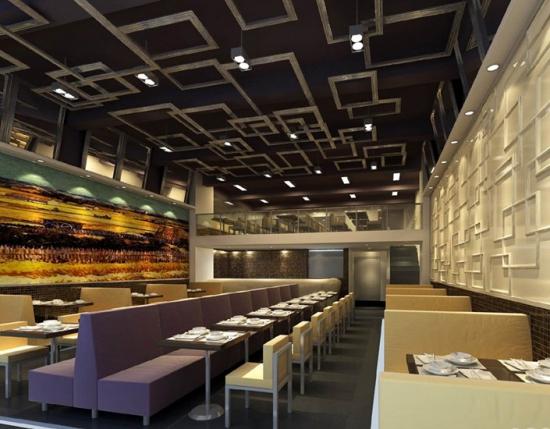 详细的餐厅设计说明