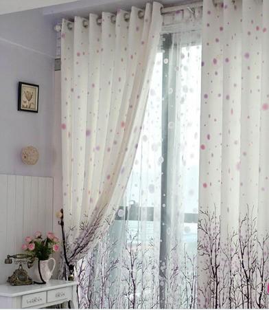 卧室窗帘效果图