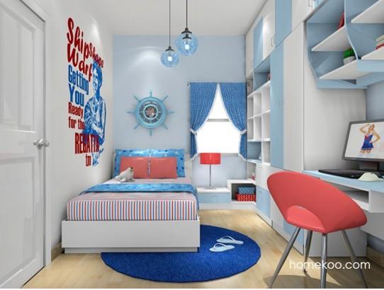 小户型儿童房装修效果图 高清图片
