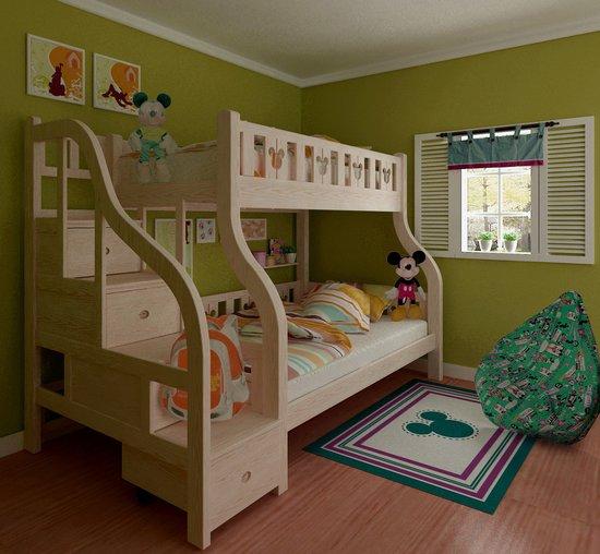 儿童子母床