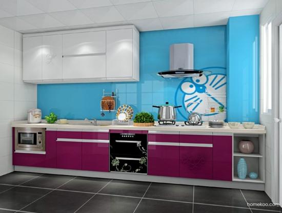 柏俪兹系列厨房F14881效果图1