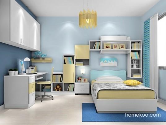 可爱儿童房家具效果图方案请点击>>