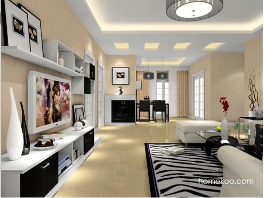 一直向往别人室内家居的装修效果,时尚的客厅宽敞明亮,顶灯的搭配更是别具一格,时尚绚烂。说不出来的文艺浪漫。客厅餐厅的开放式布局,把两个功用性的空间糅合到一起,更显温馨。室内装修效果图大全针对大部分空间在色彩和软装选择上营造需要,不止新颖,同时舒适。