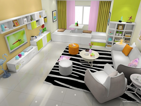 普通家居装修效果图 80后必备高清图片