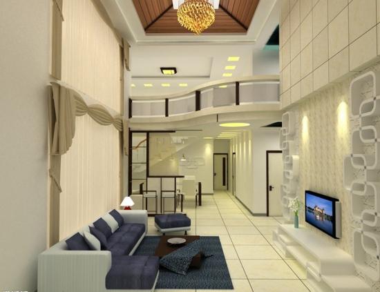 复式楼设计图 复式楼装修技巧图片