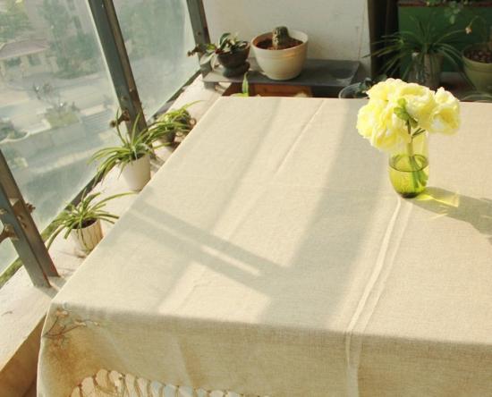 布艺餐桌布