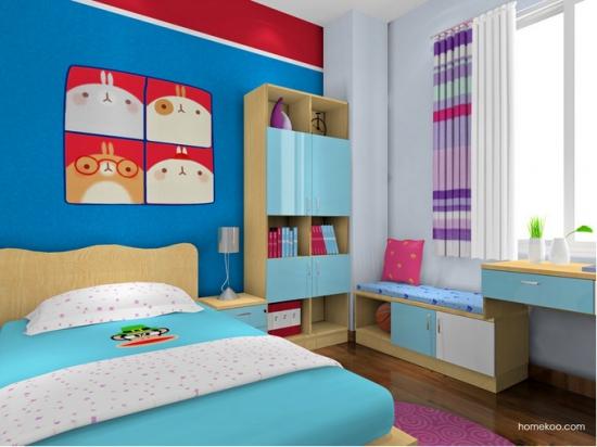 儿童卧室装修效果图欣赏