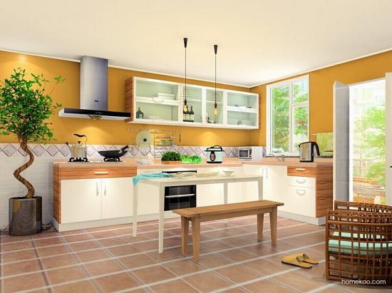 L型厨房装修注意事项