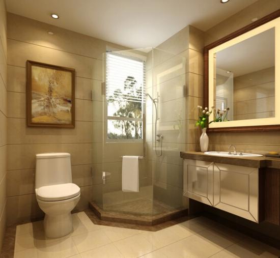 卫生间瓷砖清洁