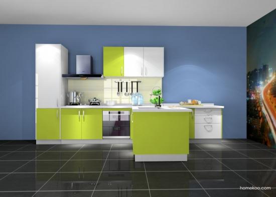 厨房装修瓷砖颜色