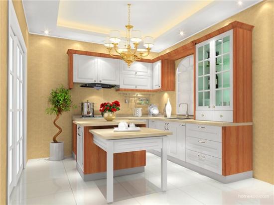 厨房门对客厅门