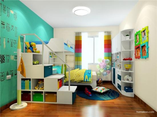 榻榻米儿童卧室
