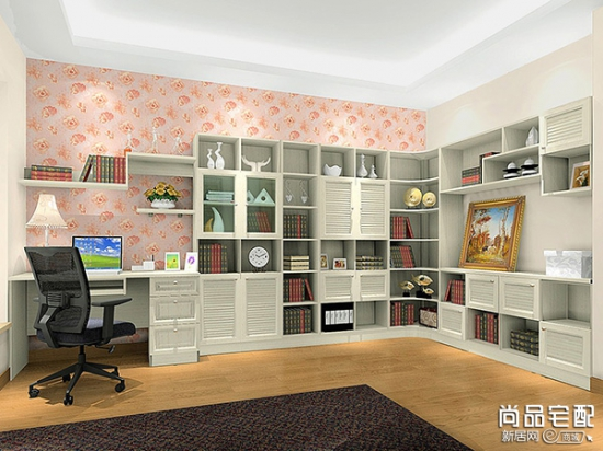 中式书房博古架的作用 小编为你介绍